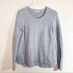 MADEWELL Riverside Textured Sweater Gray, Size M